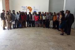 group photo with officials Kenya TTT