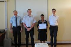 2nd photo certificate trainee TTT Tanzania
