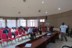 2nd photo indiv presentation of rainee final TTT Tanzania